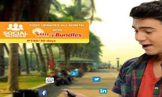 Sun Cellular SOCIAL 199, 1-month Internet Access to Facebook + more