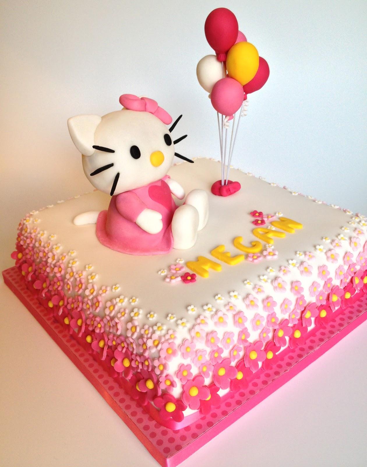 Elaine S Sweet Life Hello Kitty Cake
