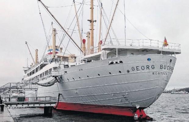 Ex charleville, paquebot, rostock, Eric Van Hooydonk, vzw Watererfgoed Vlaandere, boot   Duitse