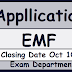 EMF Application 2018