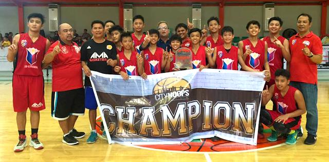 AMA Elementary Basketball Team defeats San Sebastian College