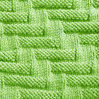 Escalator stitch, easy stitch pattern using knit purl combinations. Suitable for beginners