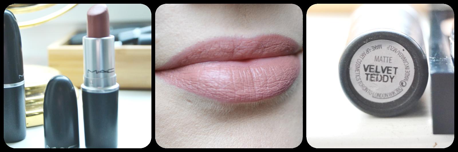 Mac Cosmetics Lipstick, Lippenstift, Velvet Teddy, Swatch, Swatches, Tragebild, Lipswatch,