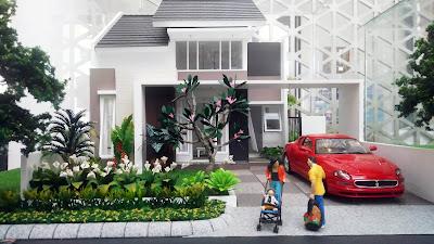 Desain Rumah ORCHID 3, 45/160 dan 3A, 45/170 Citra Indah City