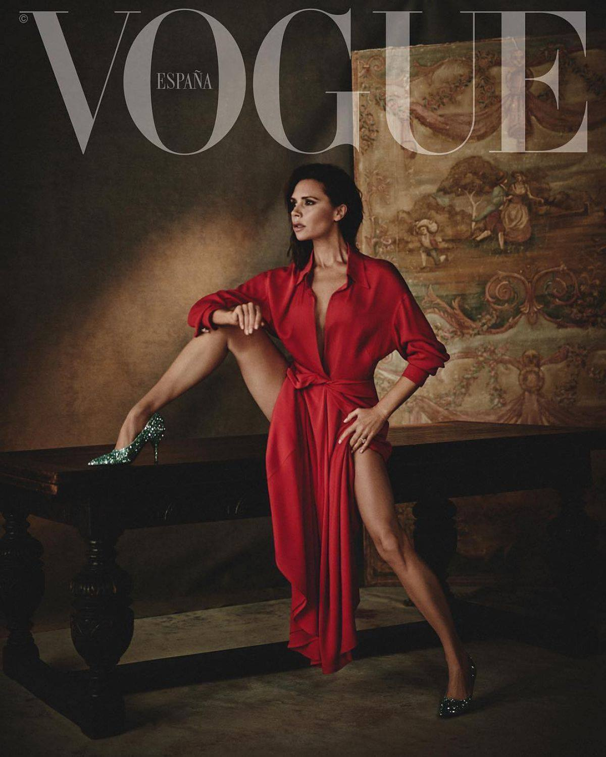 Vogue Spain February 2018 Victoria Beckham by Boo George