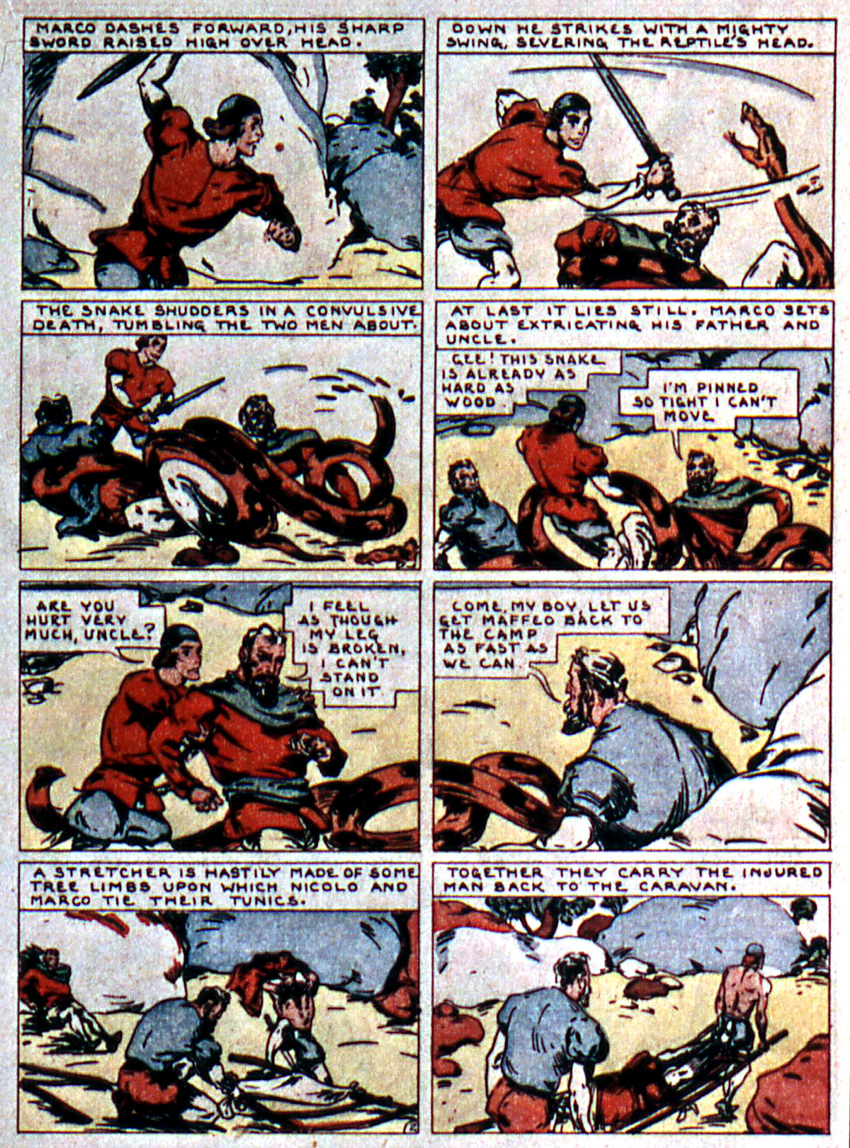 Read online Action Comics (1938) comic -  Issue #5 - 31