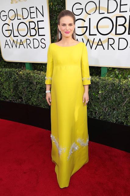 natalie portman, prada, golden globes awards, actriz, mejor actriz, jackie kennedy