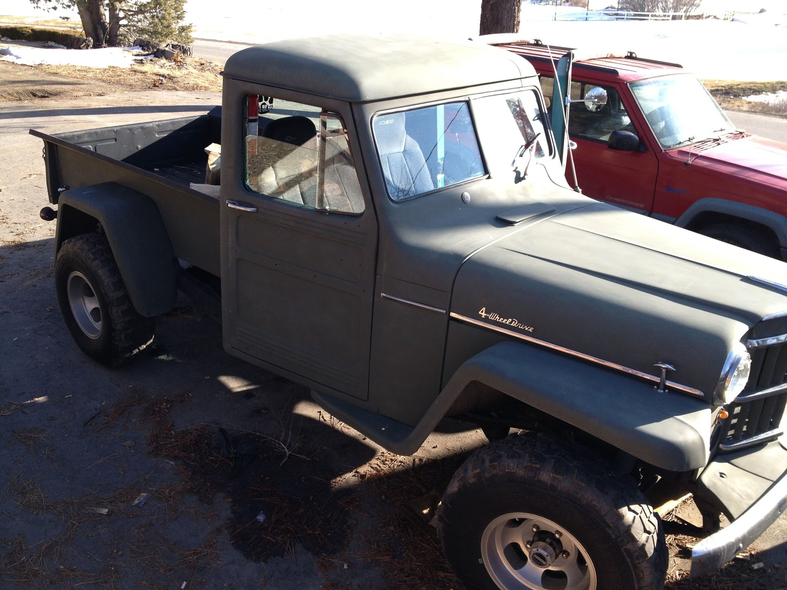 hight resolution of for sale classic 1959 willys 4x4 pickup truck for sale
