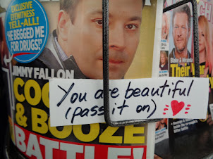 you are beautiful, pass it on ...