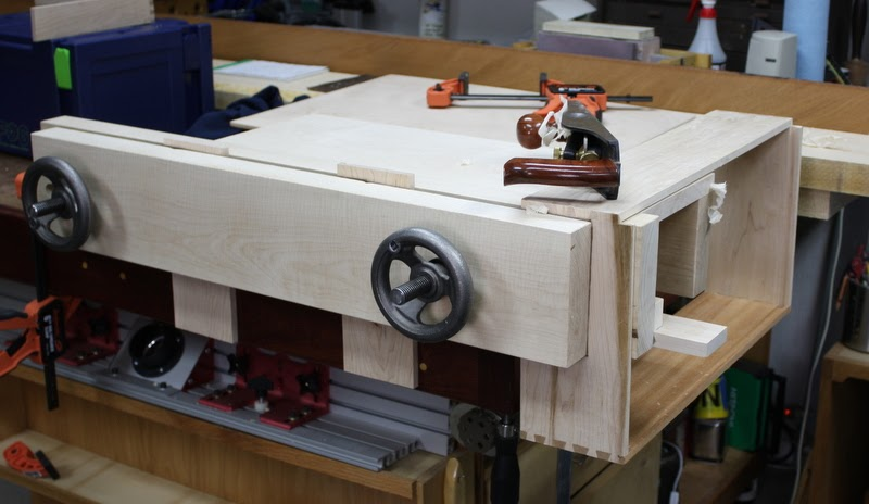 Benchcrafted Moxon Vise Kit Cleaning Up Drawers Half