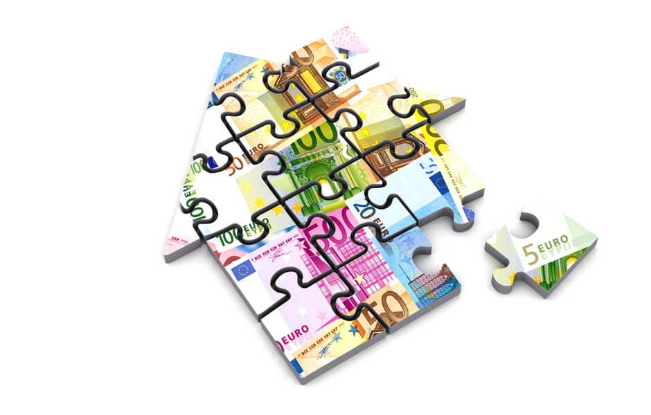 puzzelstukje hypotheek