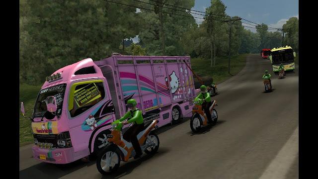 Download Traffic Ojek Online (Go-Jek) ETS2