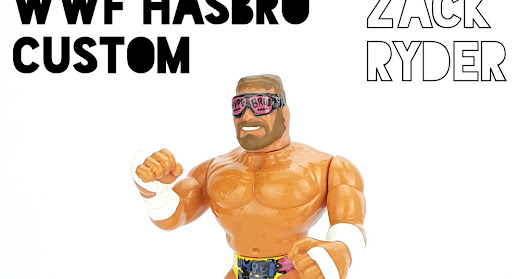 WWF Hasbro Custom Figures ☆ Zack Ryder by The Toy Scavenger