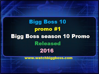 Bigg Boss 10 promo #1 | Bigg Boss season 10 Promo Released 2016