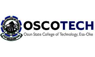 OSCOTECH Full-Time HND, PGD And Advanced Certificate Admission Announced - 2018/2019