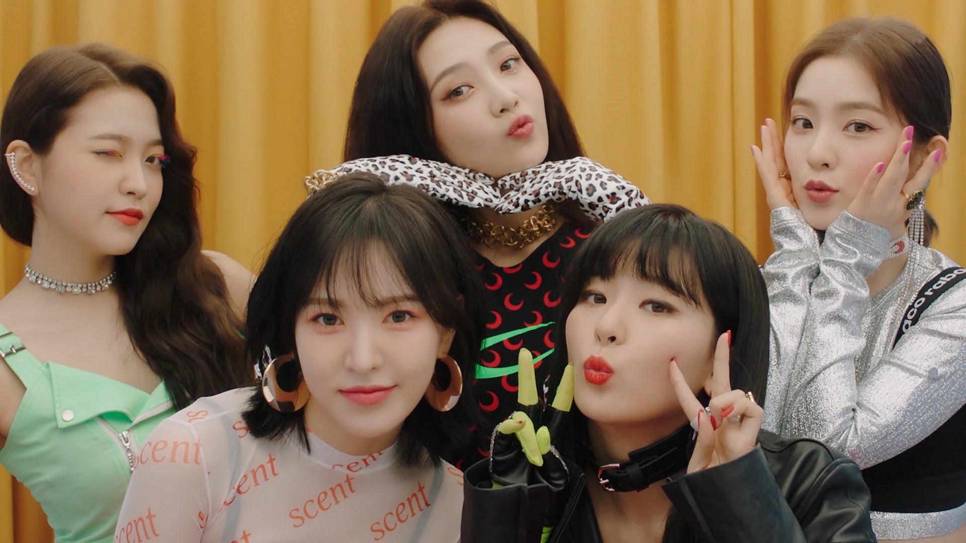 Red Velvet Zimzalabim Yeri Joy Irene Wendy Seulgi 4k