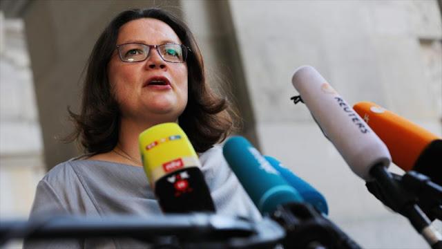 "SPD denuncia que EEUU trata a Alemania como ""república bananera"""