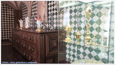 sacristia; Palácio Nacional da Pena; Portugal; sem guia; Europa;