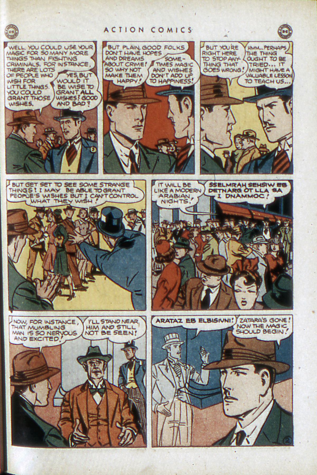 Read online Action Comics (1938) comic -  Issue #84 - 44