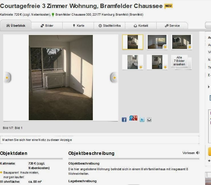 Zimmer Wohnung Hamburg Bramfeld
