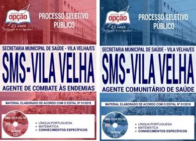 apostila Semsa Vila Velha Agente Comunitário de Saúde