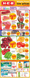 ⭐ HEB Ad 4/24/19 ✅ HEB Weekly Ad April 24 2019