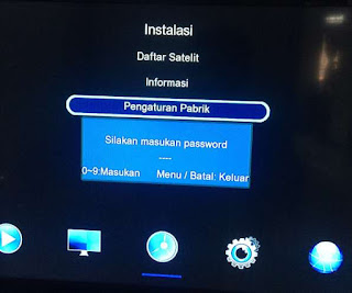 Master Password Berbagai Receiver