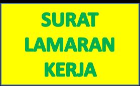 Contoh Surat Lamaran Kerja di PT PLN Persero wilayah Jawa Bali Posisi Tim Marketing