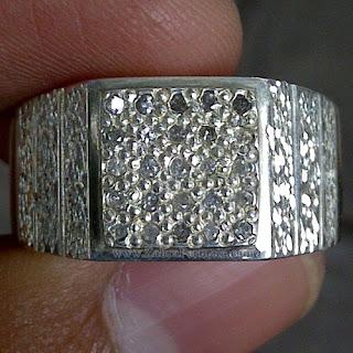 Cincin Stempel Berlian Banjar - ZP 980