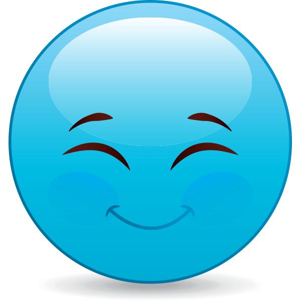 Grinning emoji smiley