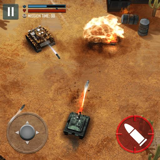 تحميل لعبه Tank Battle Heroes مهكره وجاهزه