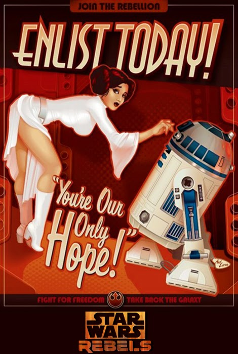 Propaganda Poster Star Wars Rebels