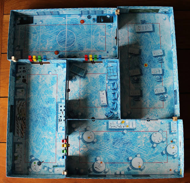 Ice Cool - game setup