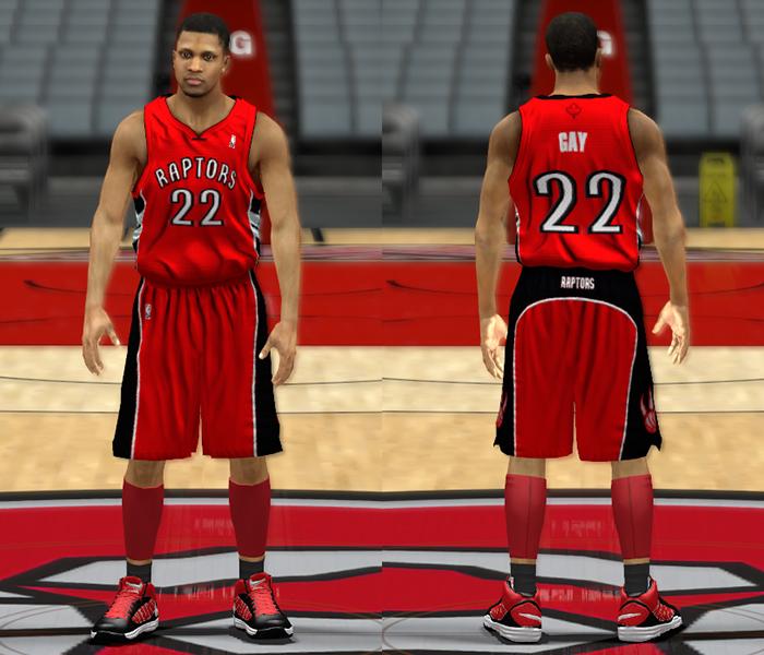 e5c3d3bd9bd NBA 2K13 Toronto Raptors Home & Away Jerseys - NBA2K.ORG