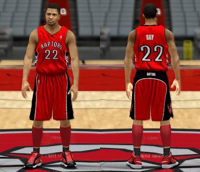 NBA 2K13 Toronto Raptors Away Jersey Mods
