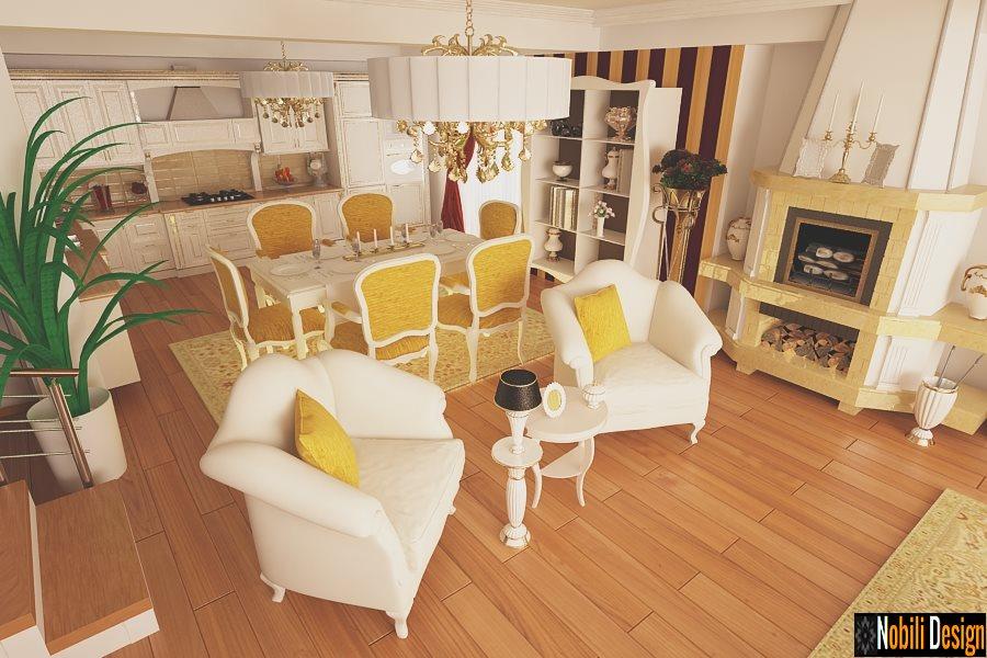 Design interior living casa de lux Bucuresti-Design Interior-Amenajari interioare