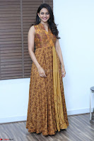 Rakul Preet Singh smiling Beautyin Brown Deep neck Sleeveless Gown at her interview 2.8.17 ~  Exclusive Celebrities Galleries 001.JPG