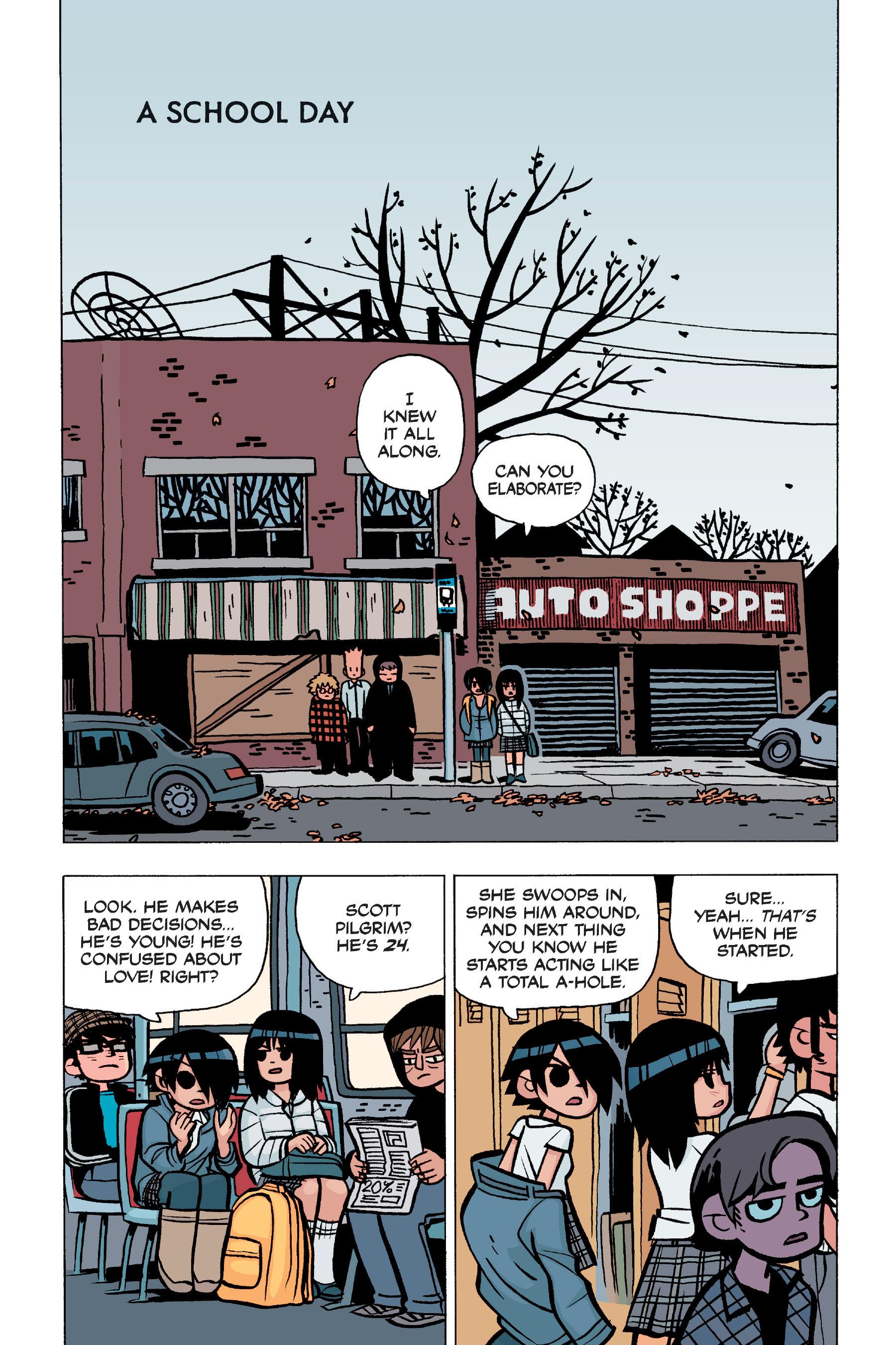 Read online Scott Pilgrim comic -  Issue #5 - 38