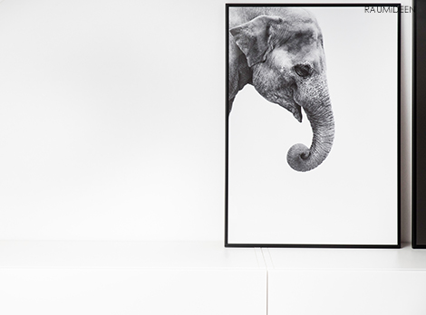 Dekoideen im Ethnostil - Deko mit Tierprints von Posterlounge.