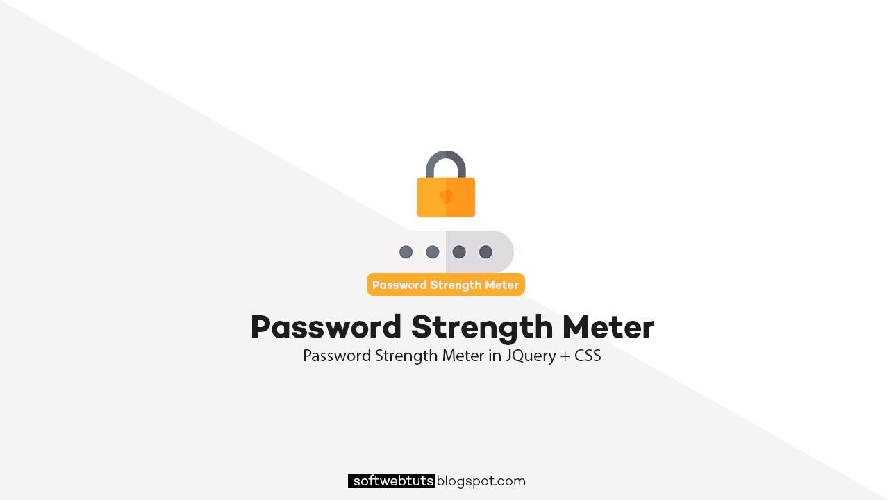 Password Strength Meter