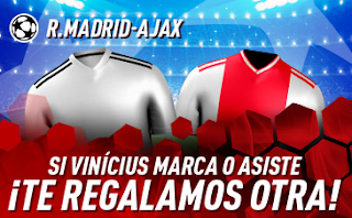 sportium promocion champions Real Madrid vs Ajax 5 marzo
