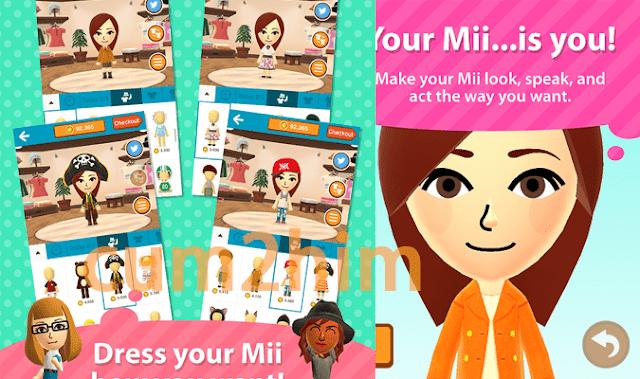 Aplikasi Miitomo Nintendo Berhasil Di download 1,4 Juta Kali