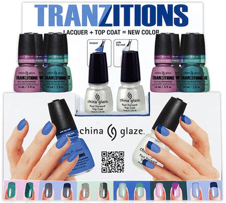China Glaze Tranzitions Collection 2012