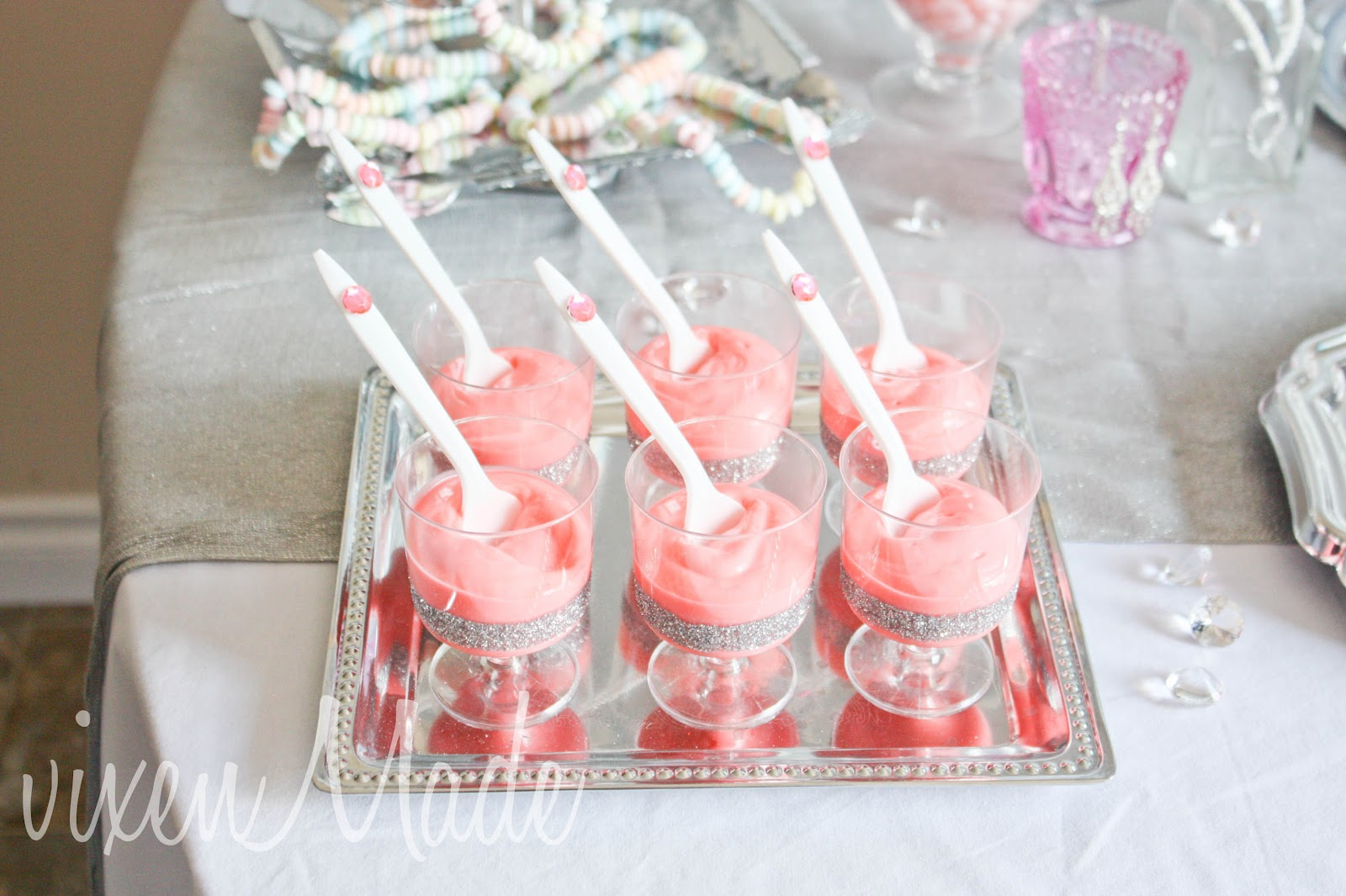 girly bling themed party vixenmade parties