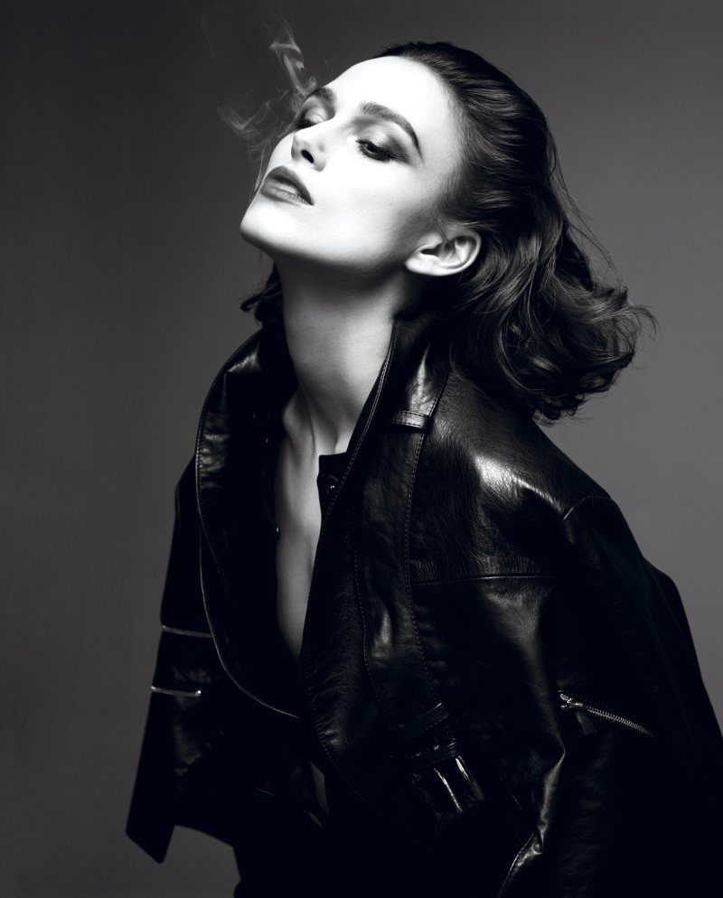 Keira Knightley For Interview Magazine - Bisous, Brittany