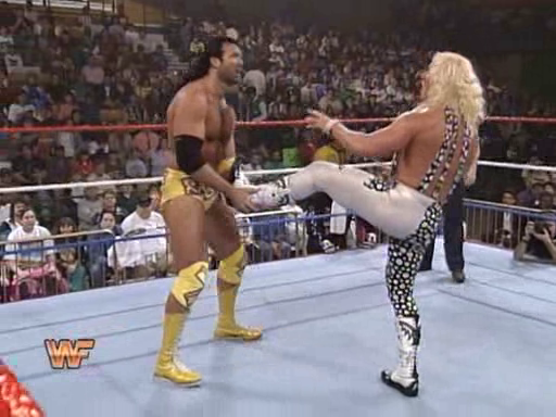 WWF / WWE: Royal Rumble 1995 - Jeff Jarrett faced -and defeated- Razor Ramon for the Intercontinental Championship