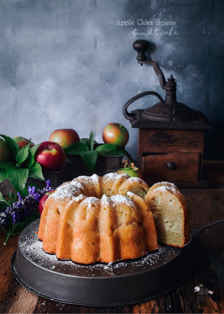 Apple Cider Spices Bundt Cake
