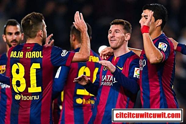 barcelona - Klub sepakbola terkaya di dunia nomor 2