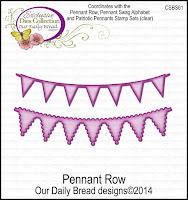 ODBD Custom Pennant Row Dies