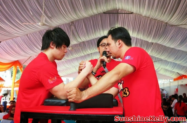 MaTiC Fest 2013, Locals and Tourists, Matic, malaysia tourism center, Arm Wrestling competition, macho man
